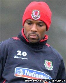 Wales defender Danny Gabbidon