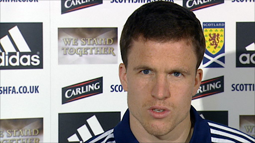 Scotland defender Gary Caldwell