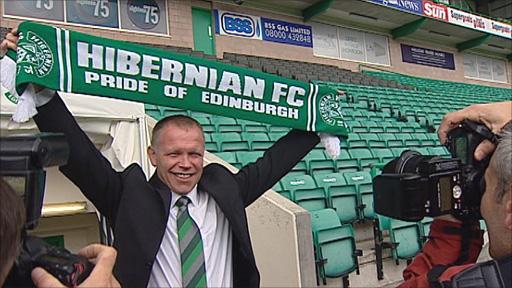 Former Hibernian manager John Hughes