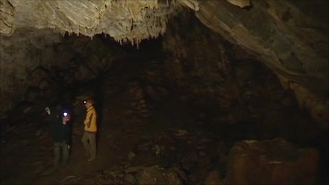 China's 'climate cave'