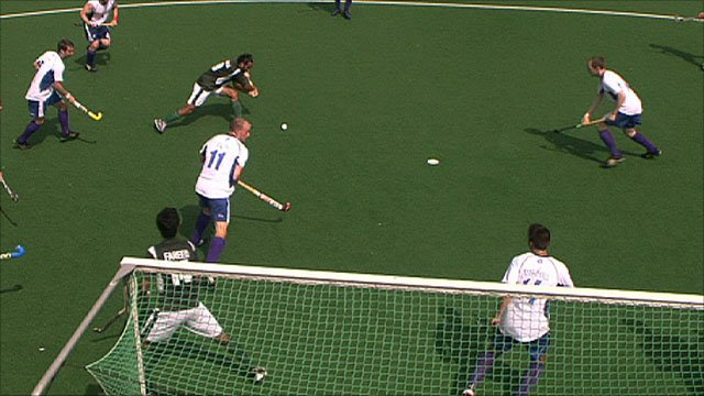 Scotland v Pakistan hockey highlights