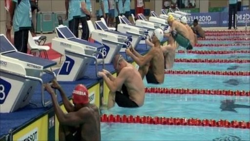 Swimming at the Delhi 2010 Commonwealth Games