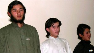 Alleged Uzbek militants in Pakistan [File photo]