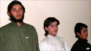 Alleged Uzbek militants in Pakistan [File photo]