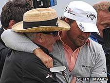 Graeme McDowell and father Kenny