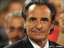 Italy coach Cesare Prandelli