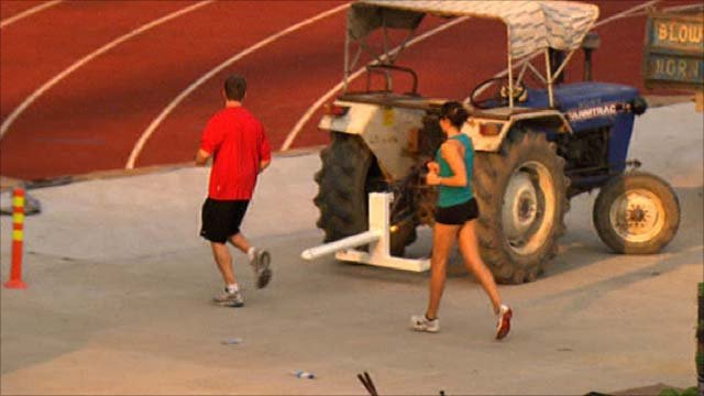 Games athletic track