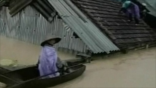 Flood victims