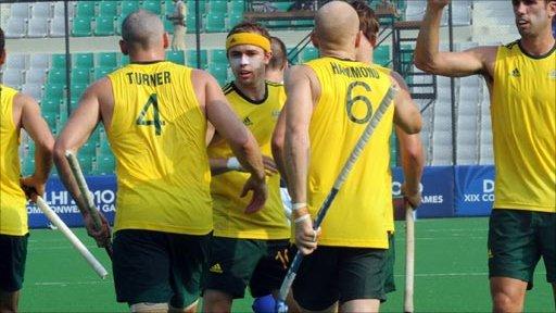 Australia 9-0 Scotland