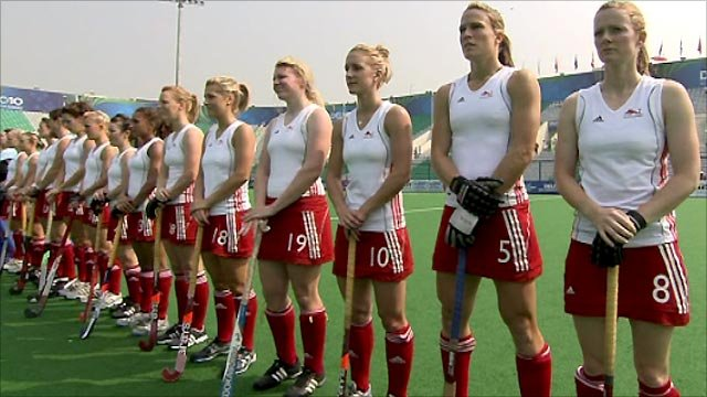 BBC Sport - Commonwealth Games 2010: Players struggle with anthem
