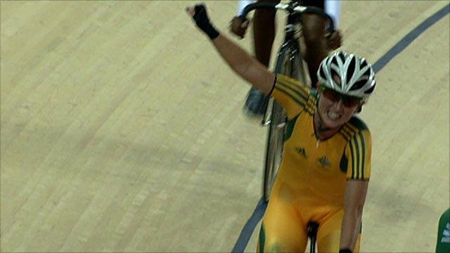 Australia's Megan Dunn