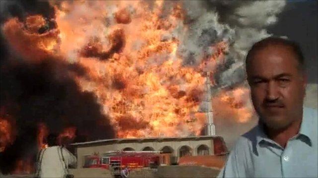 Explosion in Quetta