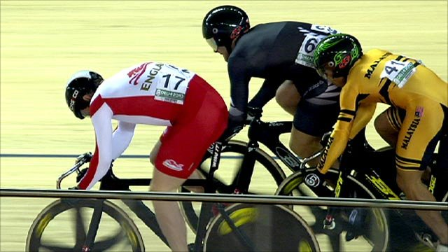 Men's keirin final