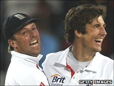 Graeme Swann and Steven Finn