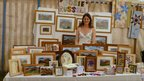 Josie Russell at Llanbedrog craft fair