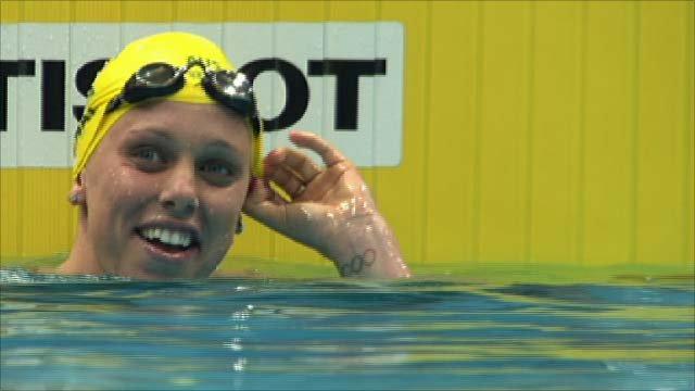 Australia win 4x200 gold