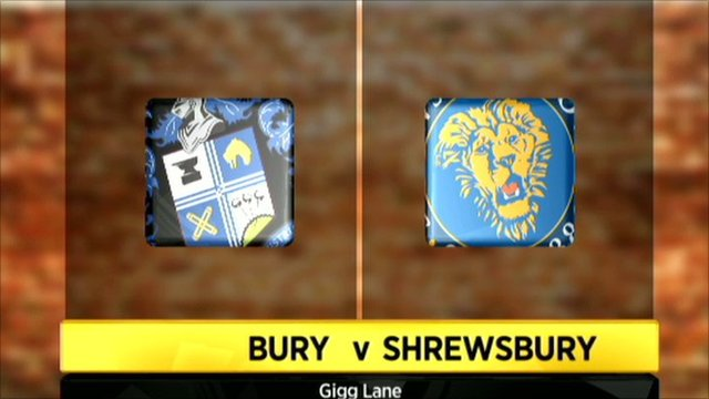 Bury 0-0 Shrewsbury (6-5 on pens)
