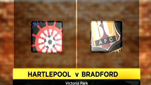 Hartlepool 1-0 Bradford