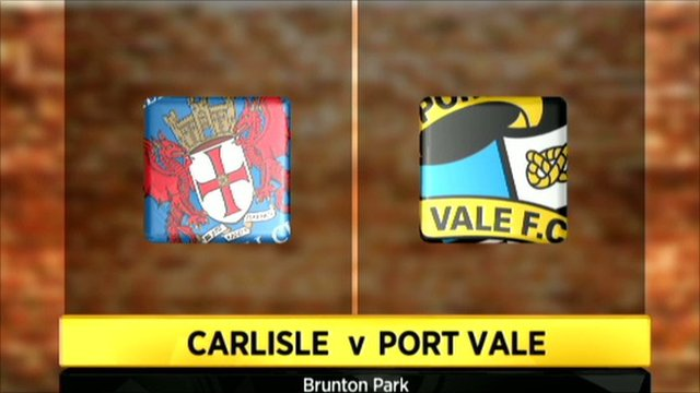 Carlisle 2-2 Port Vale (4-3 on pens)