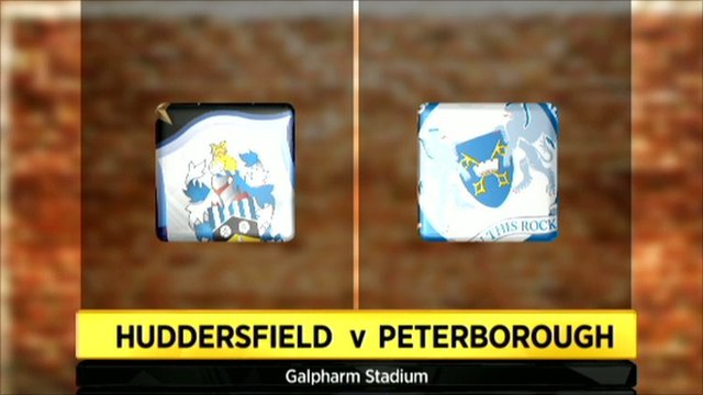 Huddersfield 3-2 Peterborough