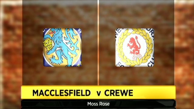 Macclesfield 2-4 Crewe