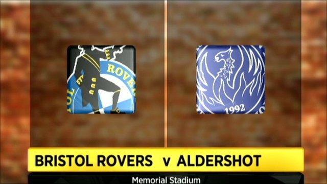 Bristol Rovers 1-0 Aldershot
