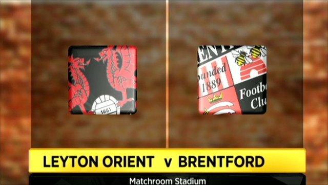Leyton Orient 0-0 Brentford (4-5 on pens)