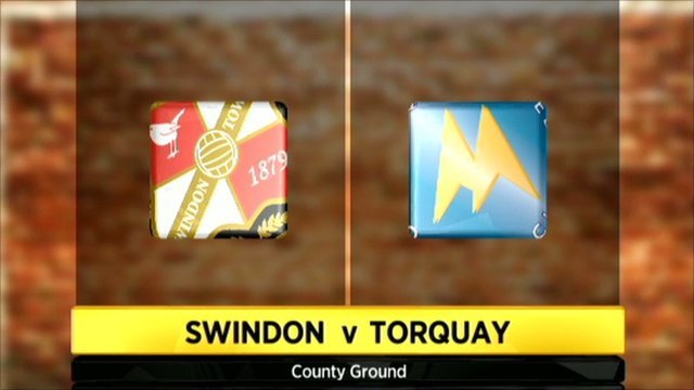 Swindon 2-0 Torquay