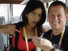 Sonali Shah and Shaun Whitmore