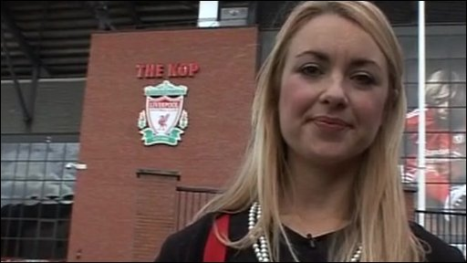 Hayley at Anfield
