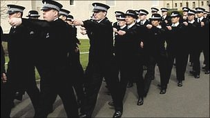 Police recruits generic