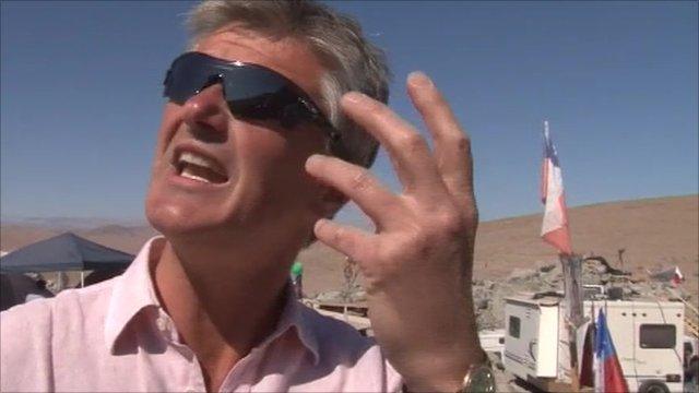 BBC's Tim Willcox