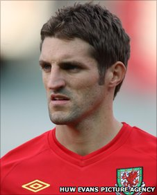 Defender Sam Ricketts has won 39 caps for Wales