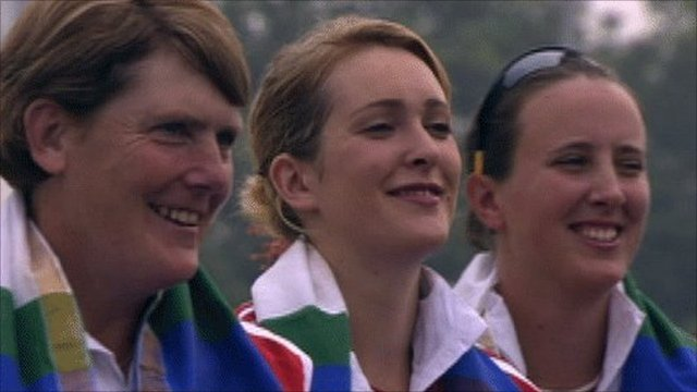 England women's archery team