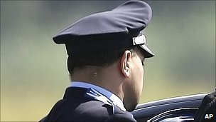 Italian police officer - file pic