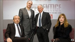 The Apprentice team