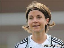 Glasgow City striker Katharina Lindner