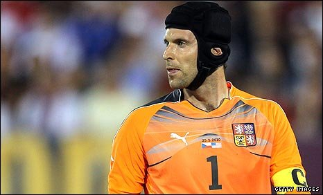 Czech Republic goalkeeper Petr Cech