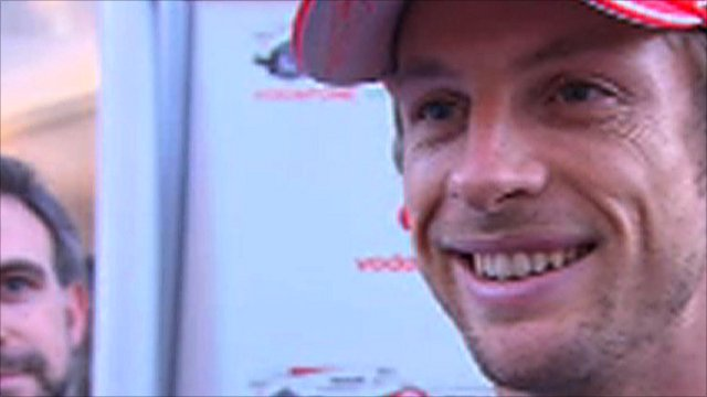 McLaren's Jenson Button