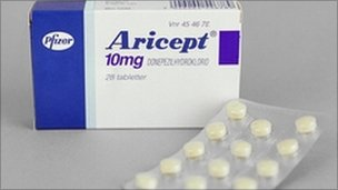 Current rules prevent NHS doctors prescribing donepezil (Aricept) to treat the early stages of Alzheimer's disease.