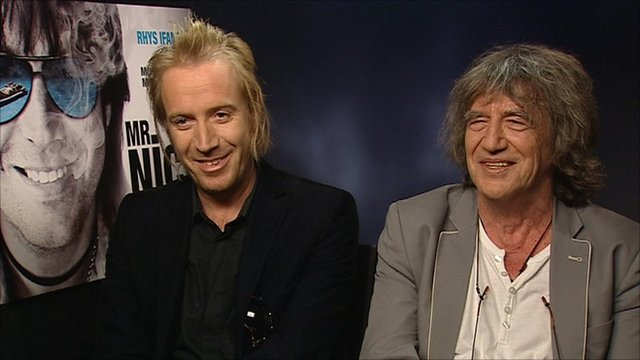 Rhys Ifans and Howard Marks