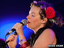 Kate Rusby at Harvest at Jimmy's