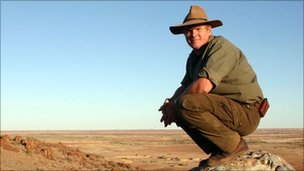 Ray Mears/Pic: Ray Mears Goes Walkabout