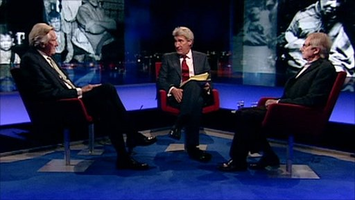 Michael Heseltine, Jeremy Paxman and Ken Loach