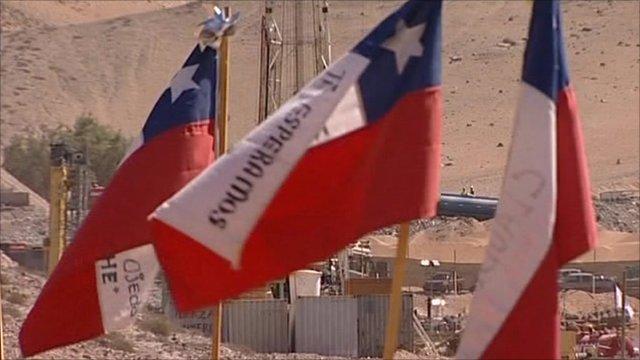 Chilean flags