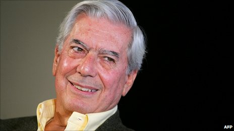 Mario Vargas Llosa in a file photo from 2006
