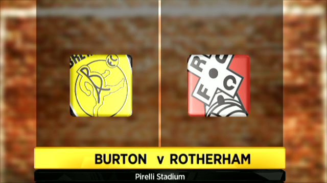 Burton v Rotherham highlights