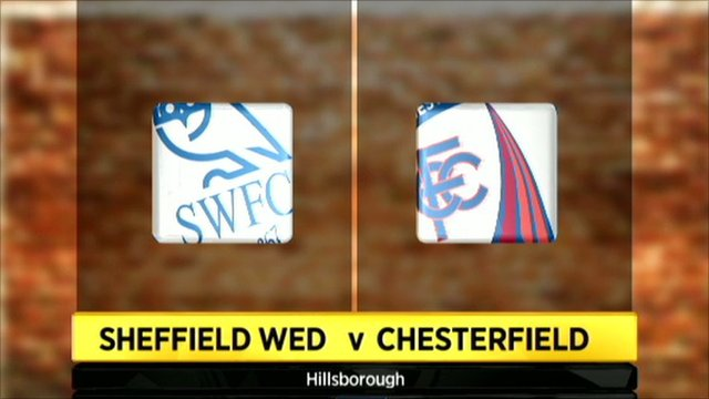 Sheffield Wednesday 2-2 Chesterfield (8-7 pens)