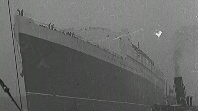 The first Queen Elizabeth ship