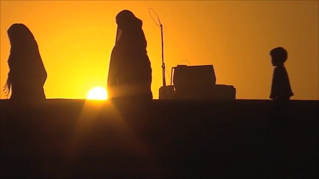 Sunset in Afghanistan